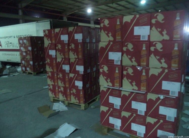 KSA: Saudi customs foil bid to smuggle 15,600 bottles of liquor