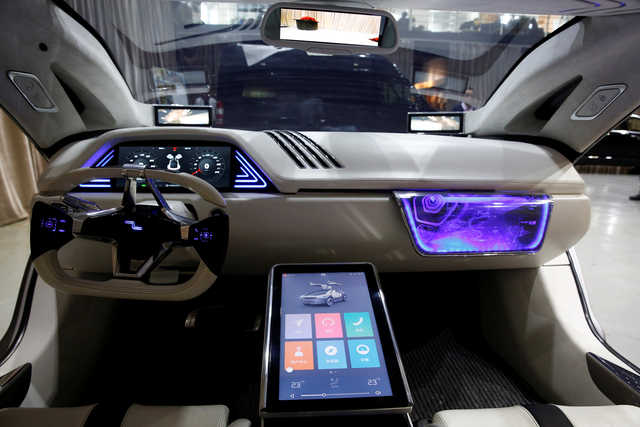 Concept Cars Shine At Auto China 2016 1 Chinadaily Com Cn: Tech Talk: Picture: Singulato Is China's Latest E-car