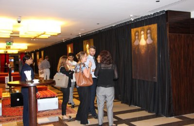 City Centre Rotana hosts art exhibition for renowned artist