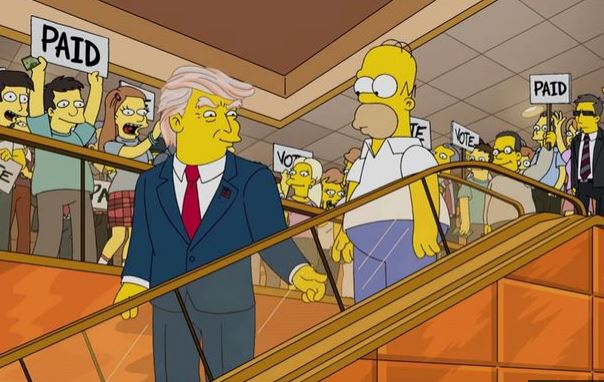 'The Simpsons' predicted Trump's victory 16 years ago