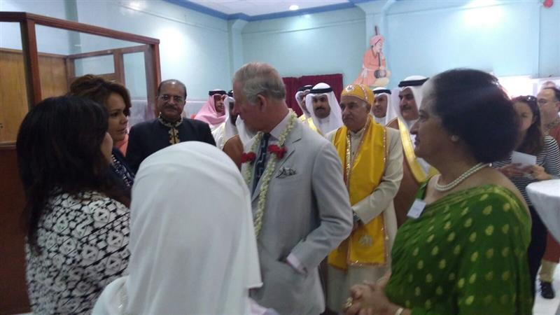 Local News: In Pictures: UK royals visit suq, temple and other sites in  Bahrain