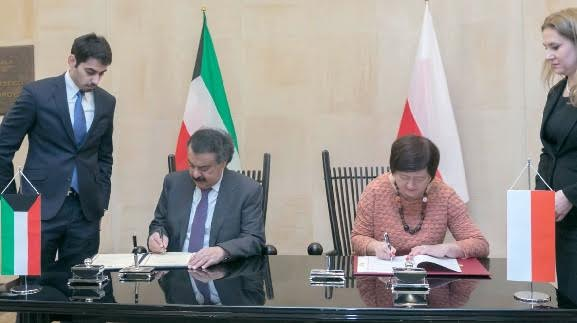 Kuwait, Poland sign visa agreement