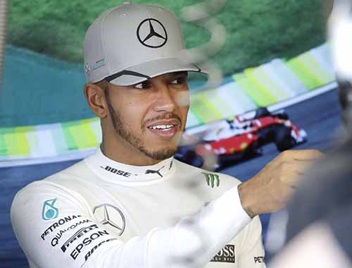 Brazilian Grand Prix: Hamilton quickest in practice