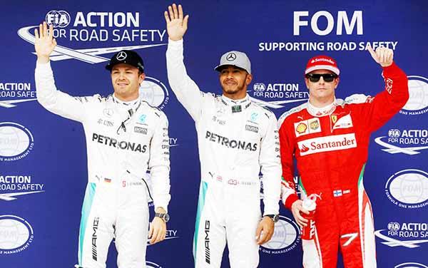 Hamilton grabs Brazilian pole