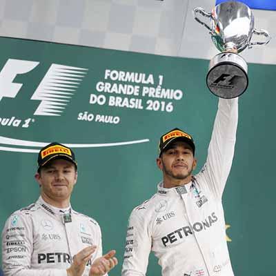 Hamilton wins chaotic Brazilian GP