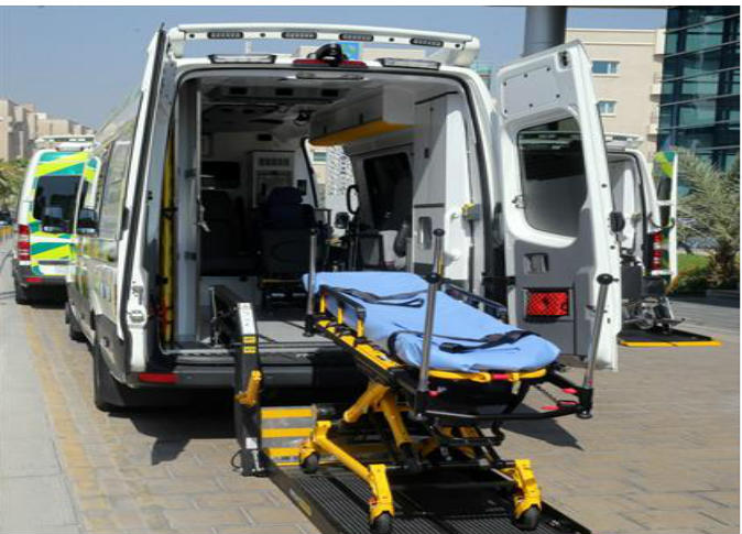 Hamad Medical Corporation launches high-tech ambulances