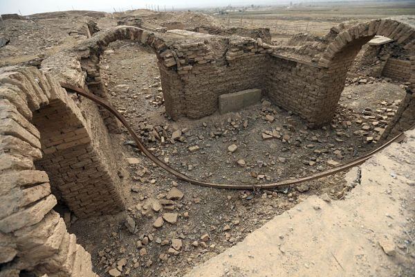 In Pictures: Extensive cultural damage found in historic Iraqi city