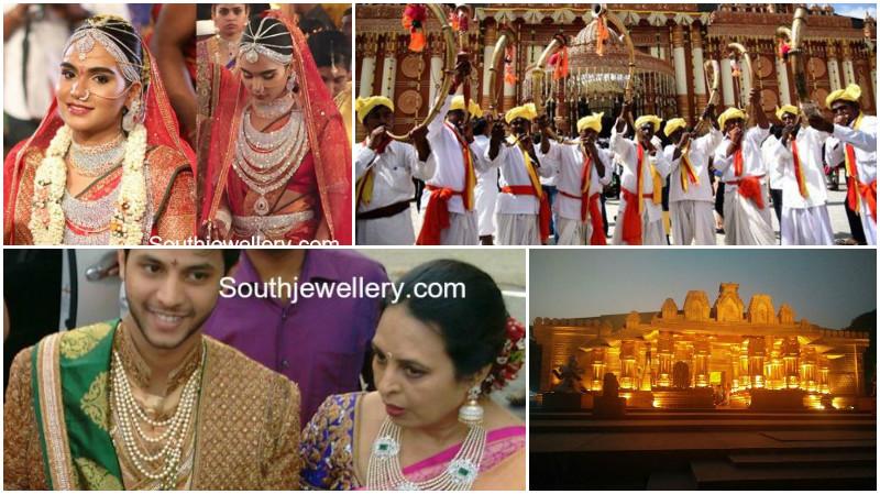 Photos: Brahmani Reddy's $74m big fat Indian wedding