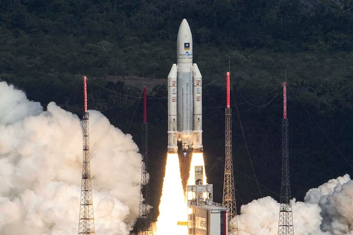 Europe launches four satellites for Galileo satnav system