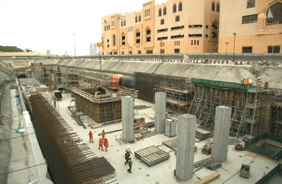 Hochtief ViCon completes Doha Metro work
