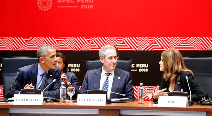 APEC leaders scramble for free trade