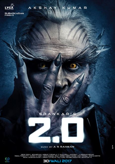 Akshay Kumar shares his first look from 'Robot 2.0'
