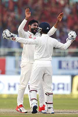 Spinners give India the edge