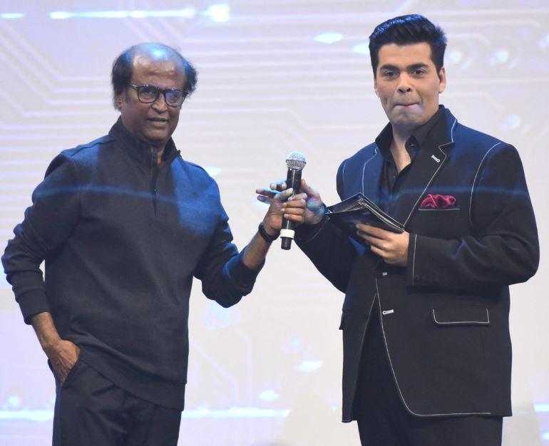 Bollywood: Photos: Salman Khan joins Rajinikanth, Akshay Kumar to launch '2.0'