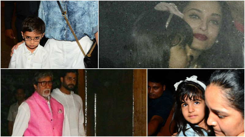 Photos: Celebs light up young Aaradhya Bachchan's birthday party