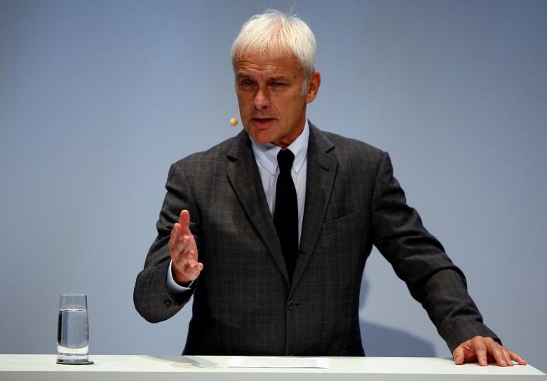 Volkswagen CEO: Sees case for building own battery factory