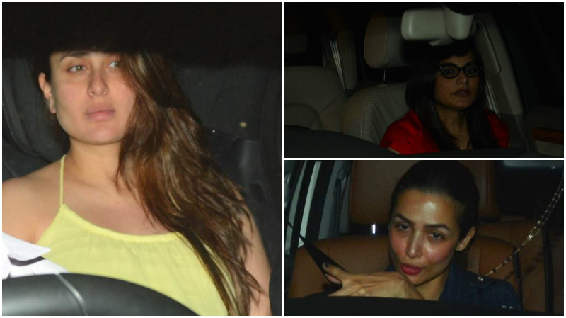Photos: Kareena Kapoor, Malaika Arora make a grand entry for Amrita Arora's bash