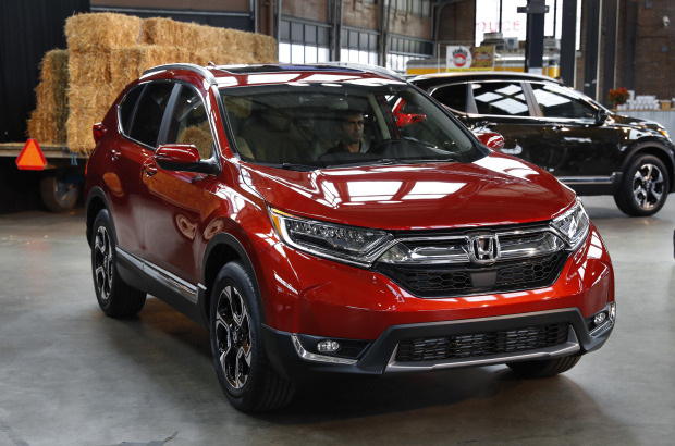 Honda starts production of new CR-V in Ohio