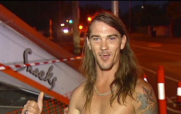Australian wearing underpants leads police to runaway driver