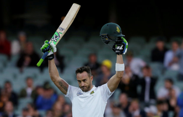 Du Plessis hits defiant ton to silence Adelaide boos