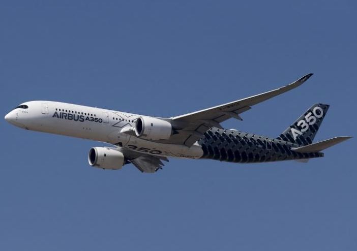 Airbus hopes to deliver 80 A350 jets