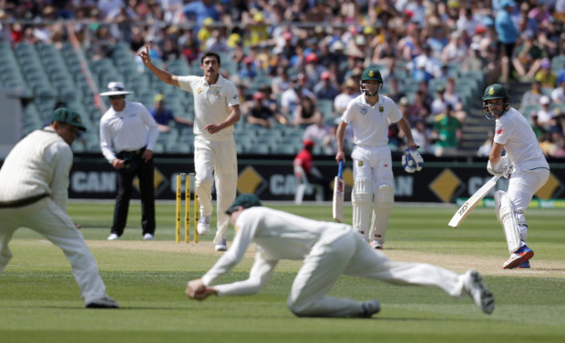 Shaky Proteas hang on as late wickets tumble
