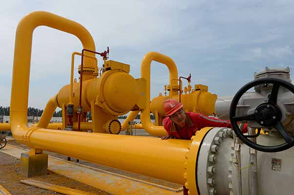 China bid to become gas pricing hub