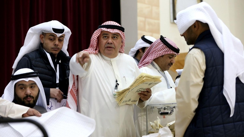 Kuwait opposition, allies win nearly half of parliament