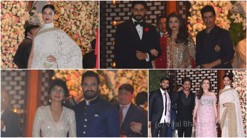 Photos: Aamir Khan, Deepika Padukone, Aishwarya Rai at Ambani's pre-wedding party