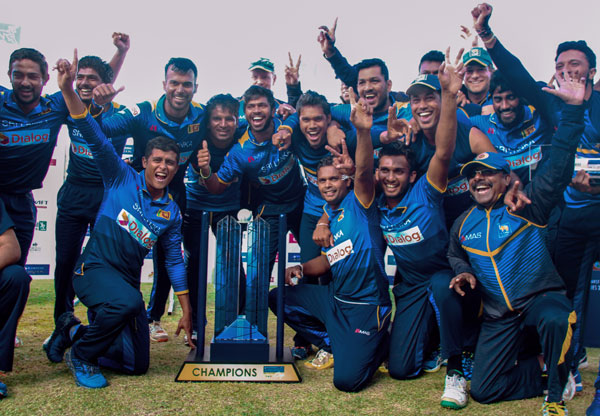 Cricket: Sri Lanka beat Zimbabwe to one-day trophy