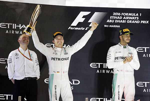 Abu Dhabi Grand Prix: Rosberg claims first F1 title