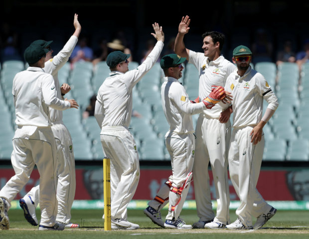 Australia 27-0 at tea, chasing 127 to win 3rd Test