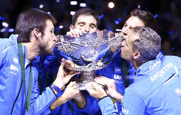 Argentina lift first Davis Cup trophy