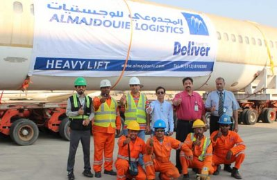Almajdouie Logistics transports retired MD90 aircraft