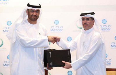 Dewa signs power purchase deal with Masdar