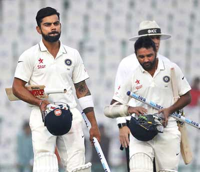Indians storm to eight-wicket win