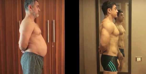 Watch: Aamir Khan's amazing transformation from 'Fat to Fit' for 'Dangal'
