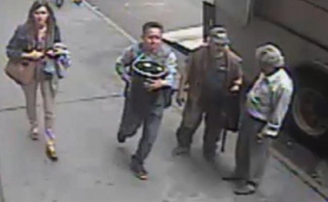 Man steals 86-pound bucket of gold flakes worth $1.6M!
