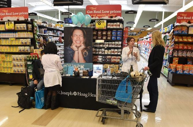 California hospitals take obesity fight to supermarkets