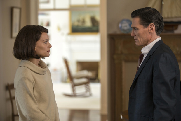 Review: In 'Jackie,' a fractured Kennedy fable