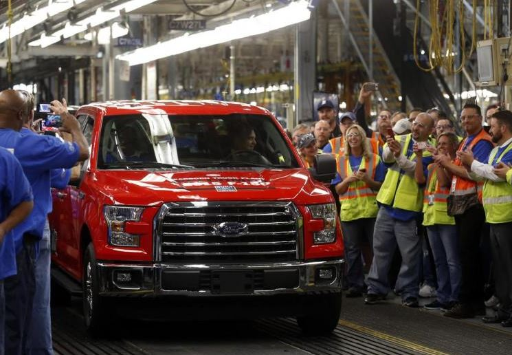 All-American pick-up trucks aim to lure China's wealthy