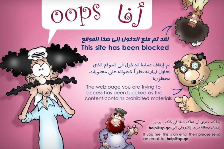 Qatari news site says website blocked, blames state censorship