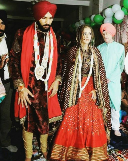 Photos: Yuvraj Singh and Hazel Keech get married
