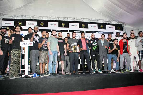 Fighters weigh in for Brave Two