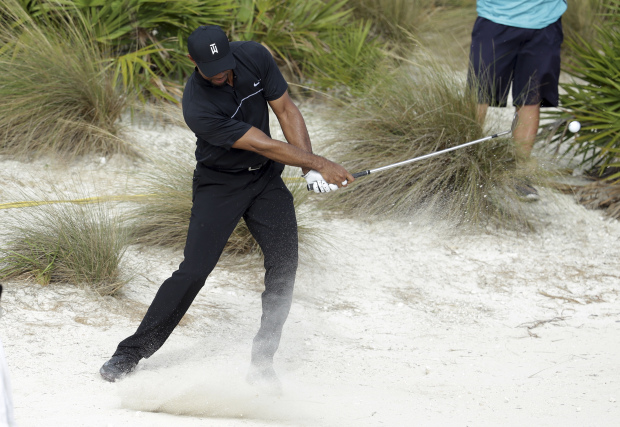 Woods upbeat after roller-coaster return to competition