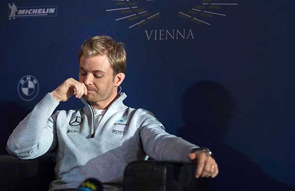 Rosberg's shocking decision to retire stuns the world of sports