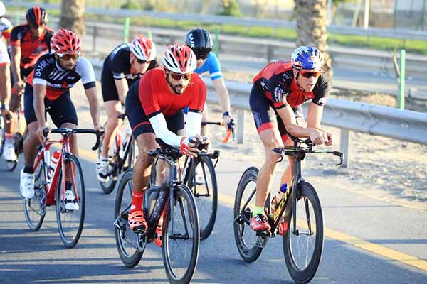 Bahrain sport: 300 cyclists take part in Ironman practice session