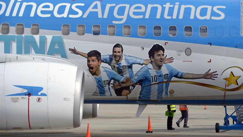 AFA hired firm to fly Argentine team without knowing plane