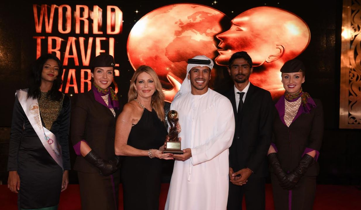 Etihad Airways wins 'World's Leading Airline' award
