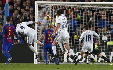 Ramos rescues Real in El Clasico stalemate